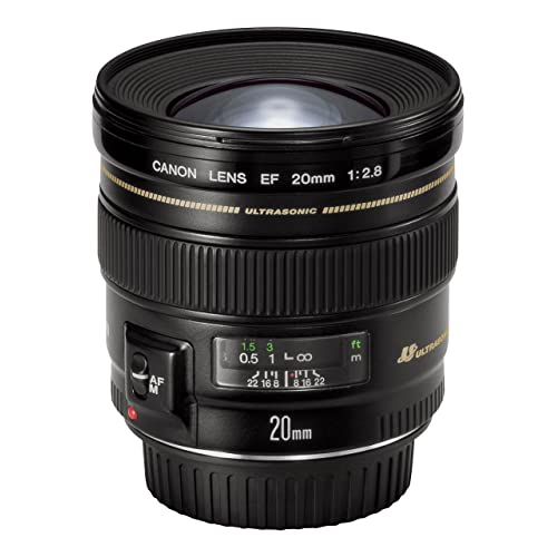 Canon Objectif Grand Angle 20 mm f/2.8 USM
