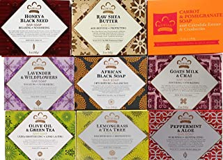 Nubian Heritage Assorted Soaps #1 - 9 Pack