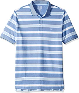 izod striped polo shirts