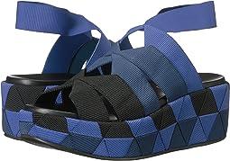 Elastic Platform Sandal