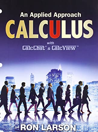 Calculus + Enhanced Webassign Access Card: An Applied Approach with CalcChat & CalcView