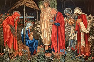 Wooden Christmas Jigsaw Puzzle - Adoration of The Magi - 253 Unique Wooden Pieces - Made in The USA by Nautilus Puzzles