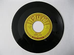 Johnny Cash 45 rpm Original Sun Recording: Sugartime/My Treasurer