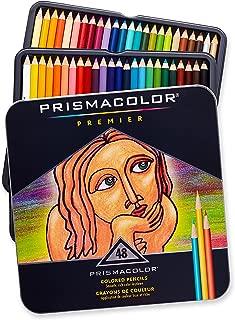 Prismacolor 高级彩色铅笔 软芯 48支(2H)