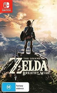 The Legend of Zelda Breath of the Wild - Nintendo Switch