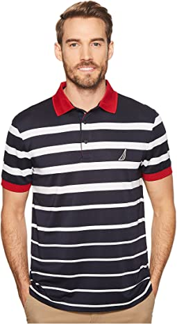 Nautica - Striped Performance Polo