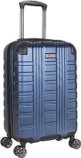 Kenneth Cole Reaction Scott's Corner Hardside Expandable 8-Wheel Spinner TSA Lock Travel Suitcase, Navy, 20-inch Carry On
