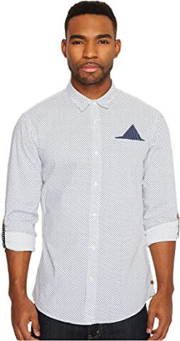 Scotch & Soda - Classic Shirt with Fixed Pocket and Sleeve Collectors