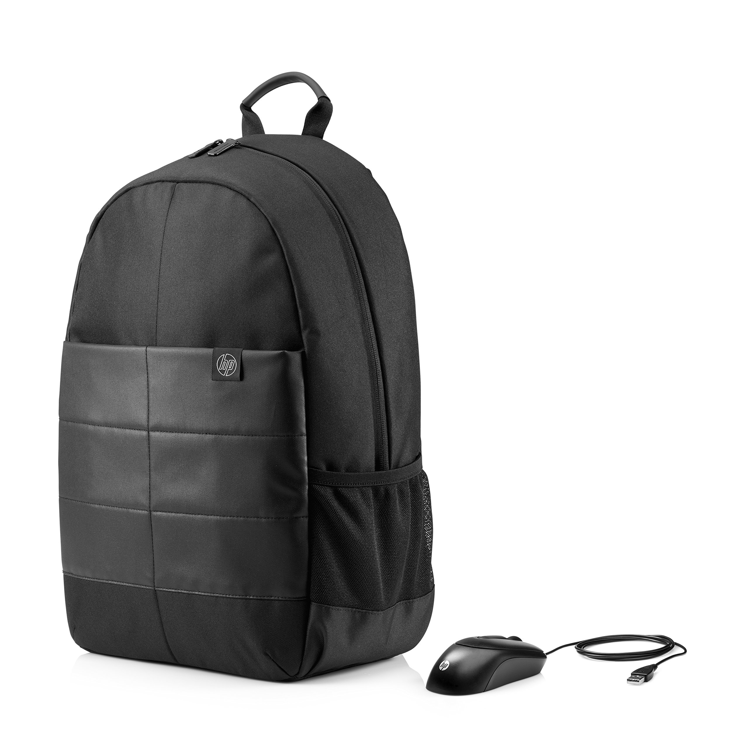 HP 15 inch Laptop Backpack Wired