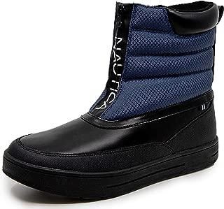 Mens Maten Waterproof Snow, Zipper Insulated Duck Boot