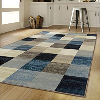 Amazon Com Superior S Rockaway Collection Area Rug 10mm Pile Height With Jute Backing Durable Fashionable And Easy Maintenance 9 X 12 Multi Color Furniture Decor