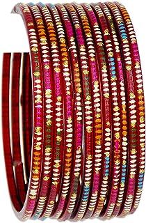 Indian Jewelry Bangles Bollywood Bangle Bridal Ethnic Dailywear Glass Bangles
