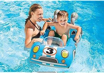 Intex Pool Cruiser Inflatable Swimming Pool Float Toddler Ring Raft Boat