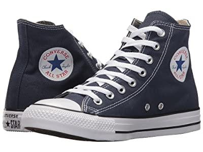 Converse Chuck Taylor(r) All Star(r) Core Hi (Navy) Classic Shoes