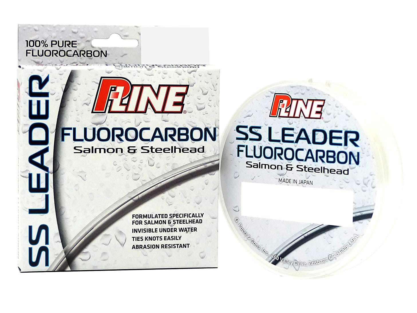 P-Line Salmon/Steelhead Select Fluorocarbon 100 yd Leader Material