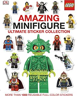 Ultimate Sticker Collection: Amazing LEGO® Minifigure: More Than 1,000 Reusable Full-Color Stickers
