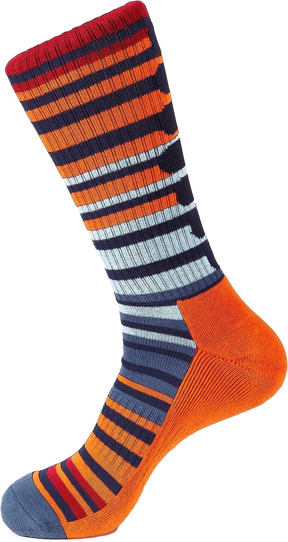 APPLE STRIPE Athletic Sock