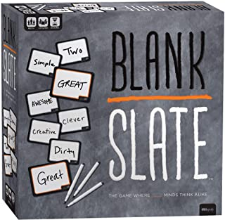 BLANK SLATE - The Game Where Great Minds Think Alike | Fun Family Friendly Word Association Party Game | The Best Choice for Game Night! | Great Family Board Game & Perfect for Family Game Night