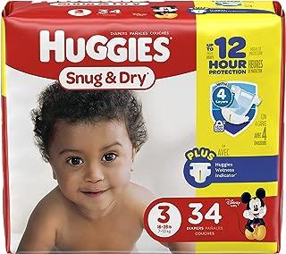 huggies size 3 34 count