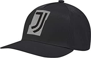 Soccer Cap Juventus Hat One Size Black Training Running