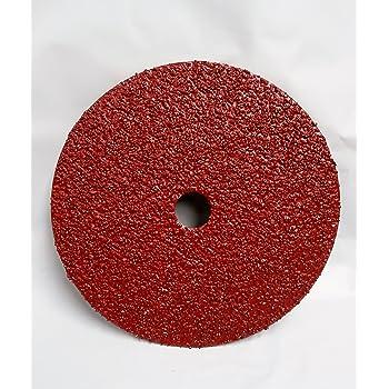 6 Diameter 50 Grit Aluminum Oxide A Pack of 50 PFERD 47376 Pressure Sensitive Adhesive Disc