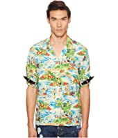 DSQUARED2 - Printed Hawaiian Viscose Shirt