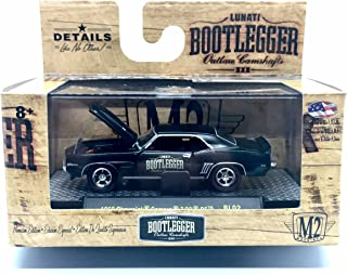 M2 Machines 1969 Chevrolet Camaro Z-28 RS Bootlegger Series Release BL02 - Castline 2016 Special Edition 1:64 Scale Die-Cast Vehicle (BL02 16-29)