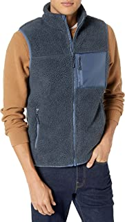 Marchio Amazon - Goodthreads Sherpa Fleece Vest Uomo