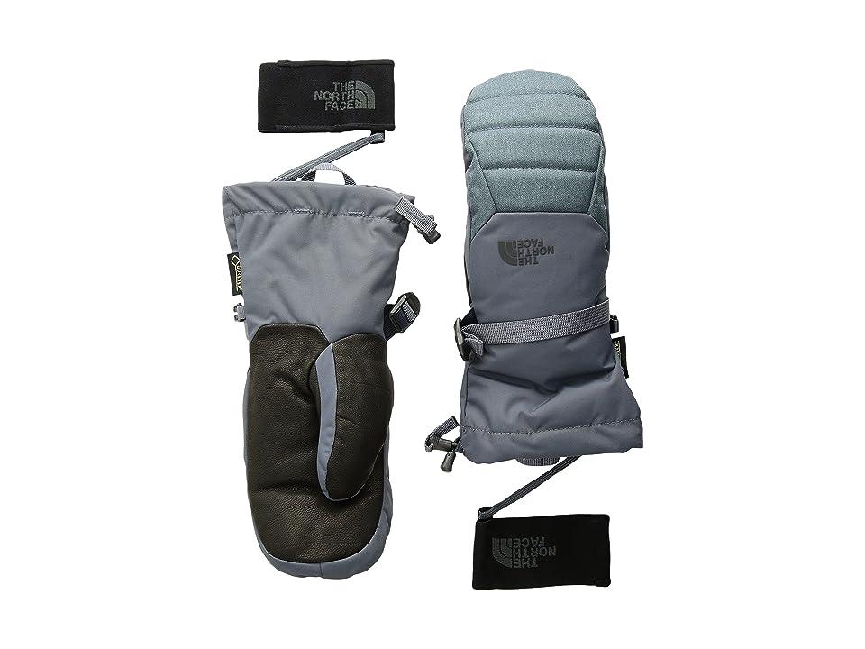 The North Face Kootenai Gore-tex Mitt (Turbulance Grey (Prior Season)) Gore-Tex Gloves
