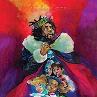 J.Cole - KOD Poster - Unframed 11x11 Inches Canvas Art Print