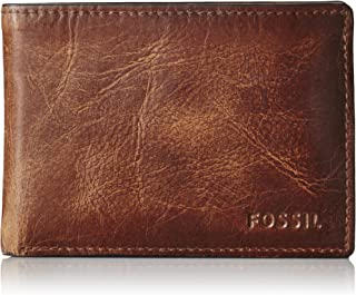 Fossil Men's Wade Leather Front Pocket Bifold Wallet