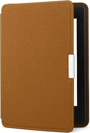Capa de couro para Kindle Paperwhite, cor marrom (não compatível com o novo Kindle Paperwhite)