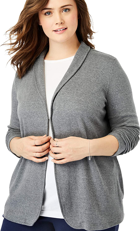 Woman Atlanta Mall Within Women's Plus 7-Day Knit Tucson Mall Size Jacket