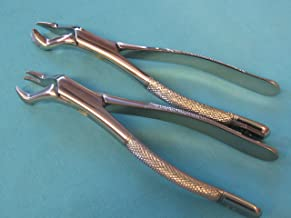 upper right and left molar forceps