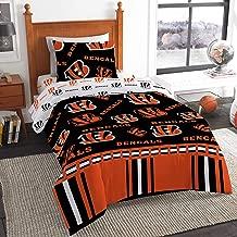 The Northwest Company NFL Cincinnati Bengals Twin Bed in a Bag Complete Bedding Set #188155983