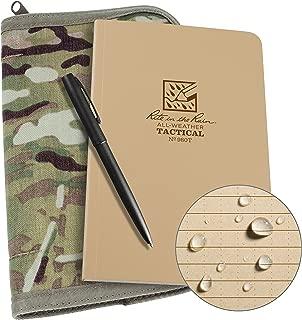 Rite in the Rain Weatherproof Tactical Field Kit: MultiCam CORDURA Fabric Cover, 4 5/8