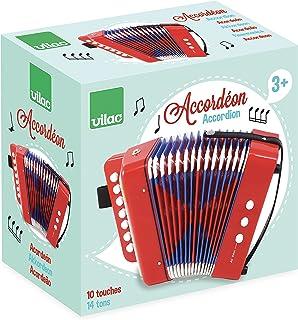 VILAC - Instruments de musique - Accordéon 10 touches - A partir de 3 ans - 8300