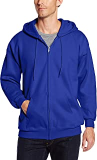 Hanes Men's Full Zip Ultimate Heavyweight Fleece Hoodie