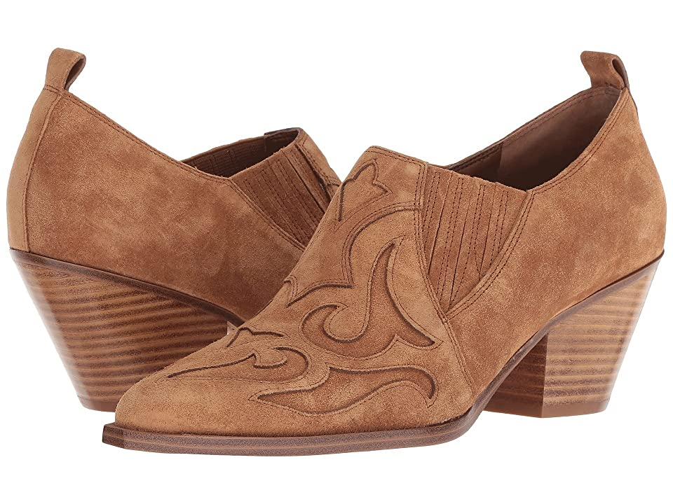 Marc Fisher LTD Charly (Cognac Suede) Women