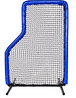 Armor Jr Series Pitching Screen Baseball Net. Voted Best L Screen Pitching Net for Batting Cage and On Field Use. This 7 x 5 Protective Screen is The Perfect Baseball L Screen