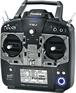 Futaba 8JH 2.4GHz S-FHSS 8-Channel Computer Radio System with R2008SB S.Bus-Compatible Receiver