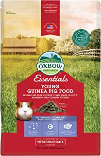 Oxbow Cavy Performance Young Guinea Pig (Alfalfa Based), 5-Pound Bag