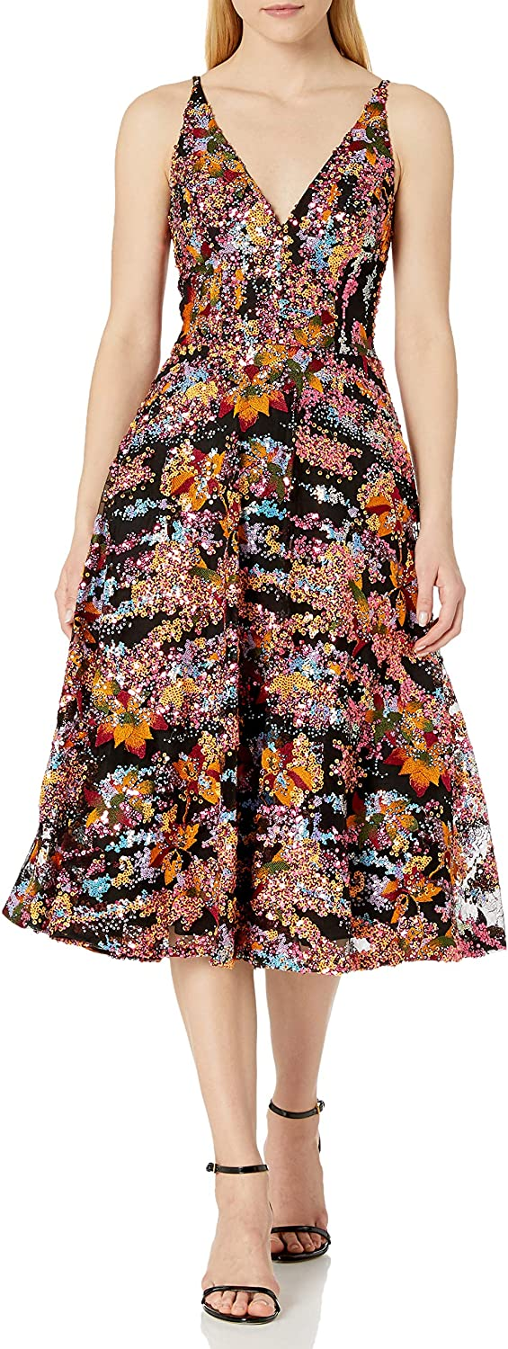 Dress the Population supreme Women's Flare Fit Excellent and