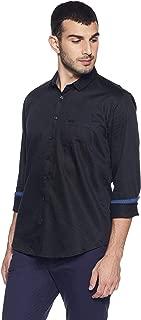 V Dot Van Heusen Men's Printed Slim Fit Casual Shirt