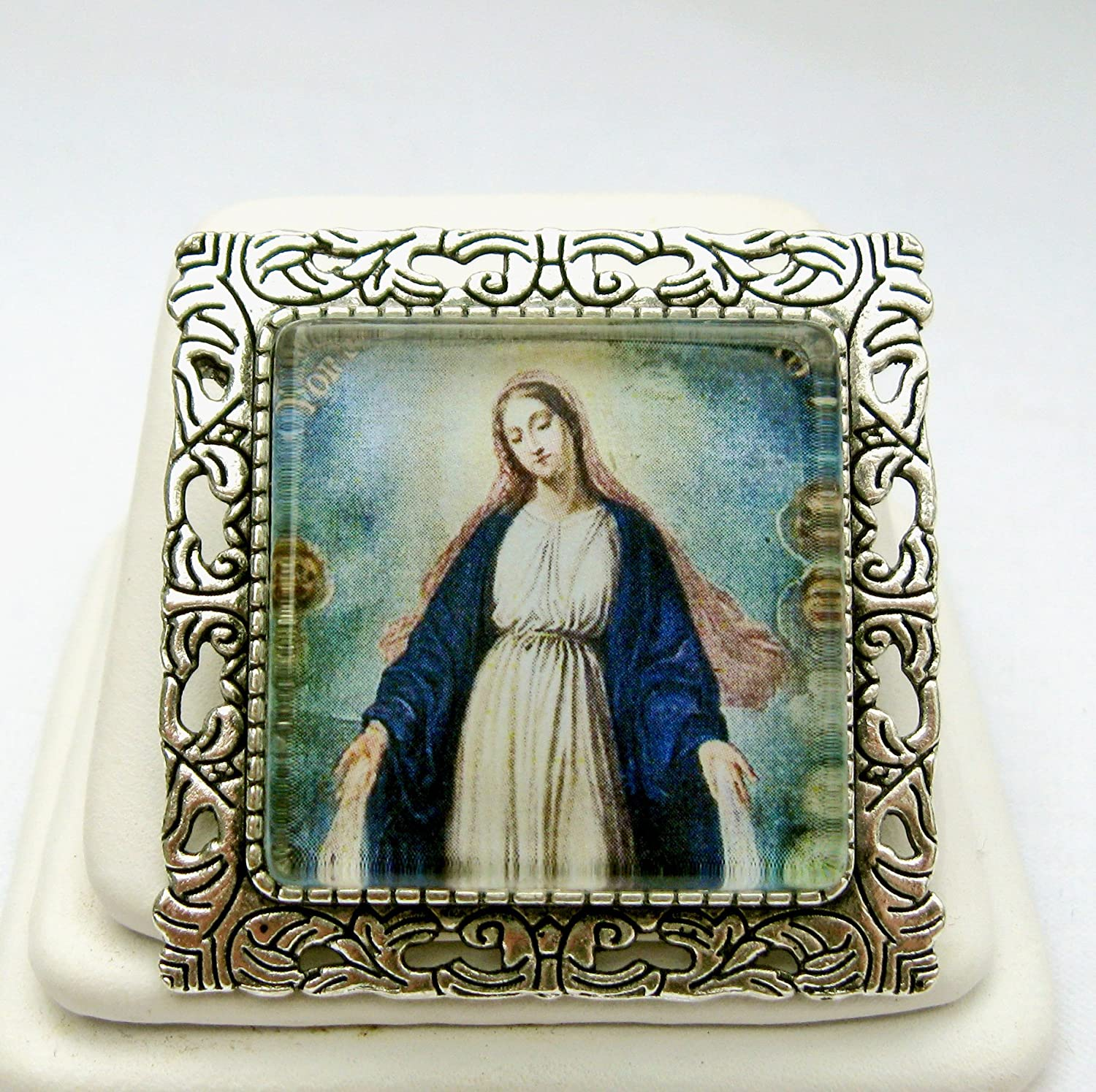 Miraculous Medal convertible brooch Fashion Max 41% OFF - AP35-045 pendant