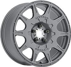 Method Race Wheels MR502 RALLY Titanium Wheel with Machined Center Ring (17x8