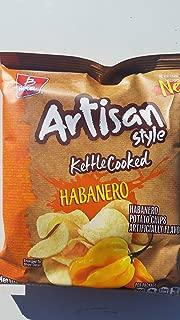 Barcel Potato Chips Toreadas Habanero 1.86 Pack of 4
