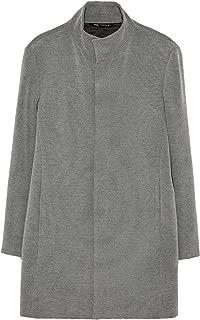 Zara Men Two-Tone Textured Coat 0706/378