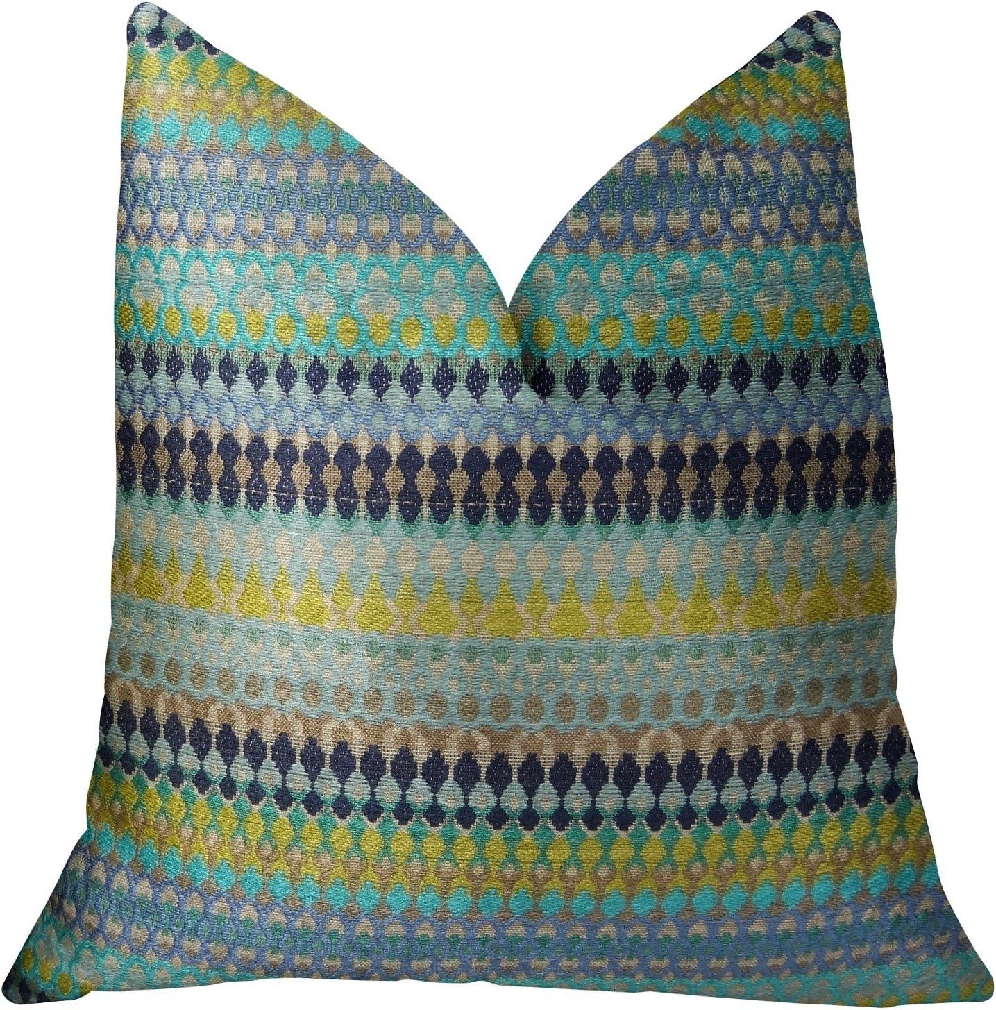 Plutus Brands Alpenglow Seattle Mall Handmade Throw Pillow x 36