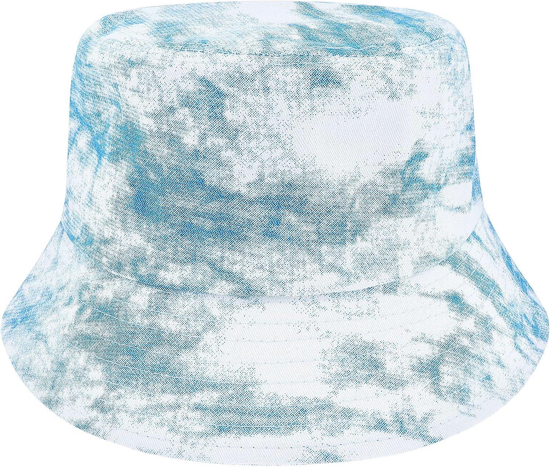 Proboths Cotton Bucket Hat Summer Travel Fisherman Cap Travel Beach Packable Sun Hat for Womens Men